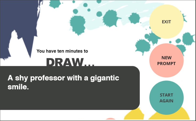 Time To Draw Random Word Generator E Learning Challenge 174